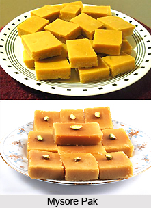 Mysore Pak, Indian Sweet
