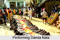 Performance in Danda Nata