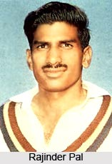 Rajinder Pal, Indian Cricket Player