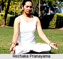 Recaka  , Yoga Method of breathing