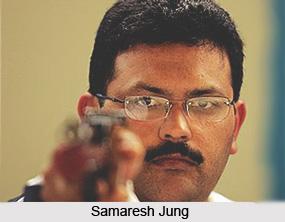Samaresh Jung, Indian Athlete