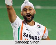 Sandeep Singh, Indian Hockey Player