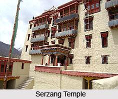 Serzang Temple, Leh, Jammu & Kashmir