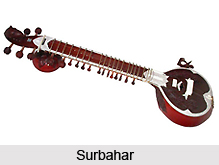 Surbahar, Indian Musical Instrument