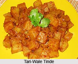 Tari-Wale Tinde, Indian Vegetable Dish