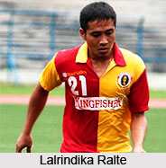 Lalrindika Ralte, Indian Football Player