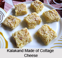 Use of Cottage Cheese in Bengali Sweets