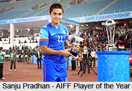 Sanju Pradhan, Indian Football Player