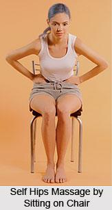Self Hips Massage, Aromatherapy