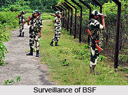Border Security Force, Indian Administration
