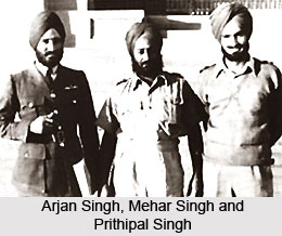 Role Of Arjan Singh in British Indian Air Force, Indian Air Force Marshal