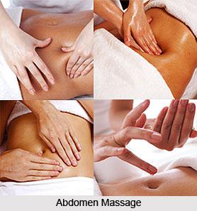 Abdomen Massage, Aromatherapy