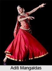 Aditi Mangaldas, Indian Kathak Dancer