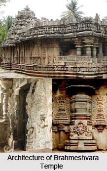 Architecture of Brahmeshvara Temple