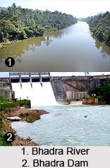 Bhadra River, Karnataka