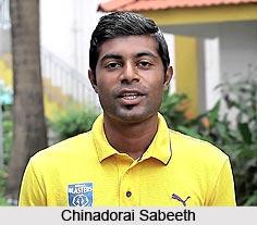 Chinadorai Sabeeth, Indian Football Player