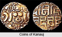 Coins of Kanauj, Coins of Rajput Period