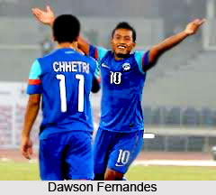 Dawson Fernandes, Indian Football Player