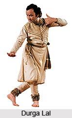 Durga Lal, Indian Kathak Dancer
