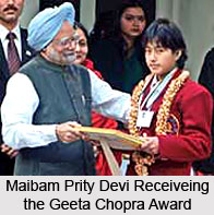 Geeta Chopra Award ,Indian National Bravery Award