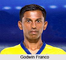 Godwin Franco, Indian Football Player