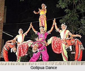 Gotipua Dance, Orissa