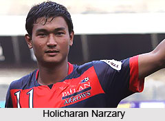 Holicharan Narzary, Indian Football Player