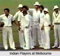 India-Australia Melbourne Test, 1981