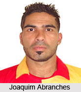 Joaquim Abranches, Indian Football Player