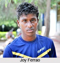 Joy Ferrao, Indian Football Player
