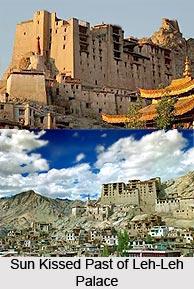 Leh Palace, Leh District, Jammu and Kashmir