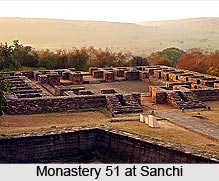 Monastery 51 at Sanchi