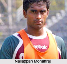 Nallappan Mohanraj, Indian Football Player