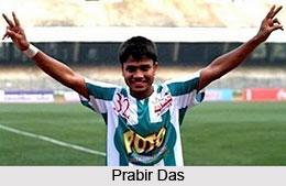 Prabir Das, Indian Football Player