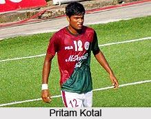 Pritam Kotal, Indian Football Player