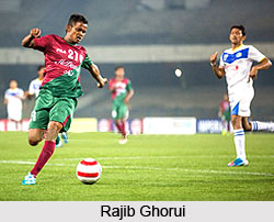 Rajib Ghorui, Indian Football Player