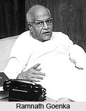 Ramnath Goenka , Indian Business Man