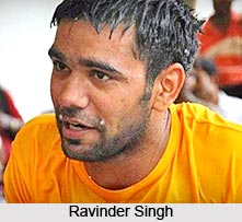 Ravinder Singh, Indian Football Player