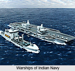 Warship Design and Building, Indian Navy