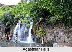 Agasthiar Falls, Tirunelveli District, Tamil Nadu