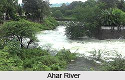 Ahar River, India