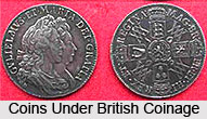 Coins during British India