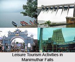Manimuthar Falls, Tirunelveli district, Tamil Nadu