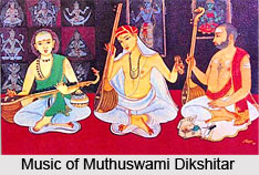 Muthuswami Dikshitar , Indian Classical Vocalist