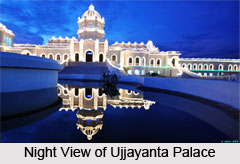 Architecture of Ujjayanta Palace
