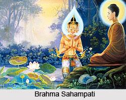 Brahma Sahampati,  Buddhism