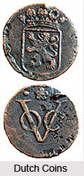 Dutch Coins in India