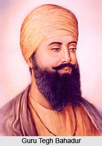 Guru Tegh Bahadur , Indian Sikh Saint