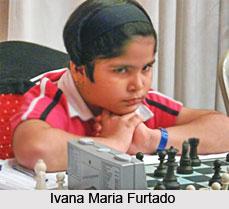 Ivana Maria Furtado, Indian Chess Player