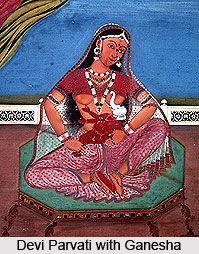 Kerari, Worshipper Of Devi Parvati